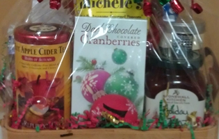 holiday Basket & Coffeeberries   Londonderry NH   Gift Baskets