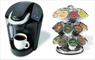 Keurig Coffee Maker And Carousel